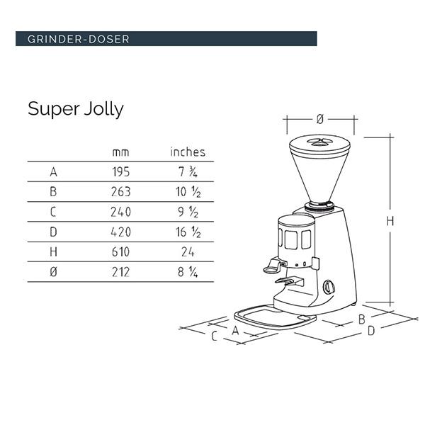 SUPER JOLLY [スーパージョリー] / ブラック