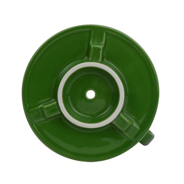 F70 FLAT BOTTOM DRIPPER / Green [専用ペーパーフィルター100枚付]