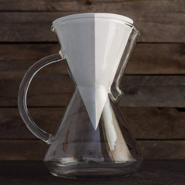 G70 - SINGLE WALL GLASS COFFEE DRIPPER [専用ペーパーフィルター100枚付]
