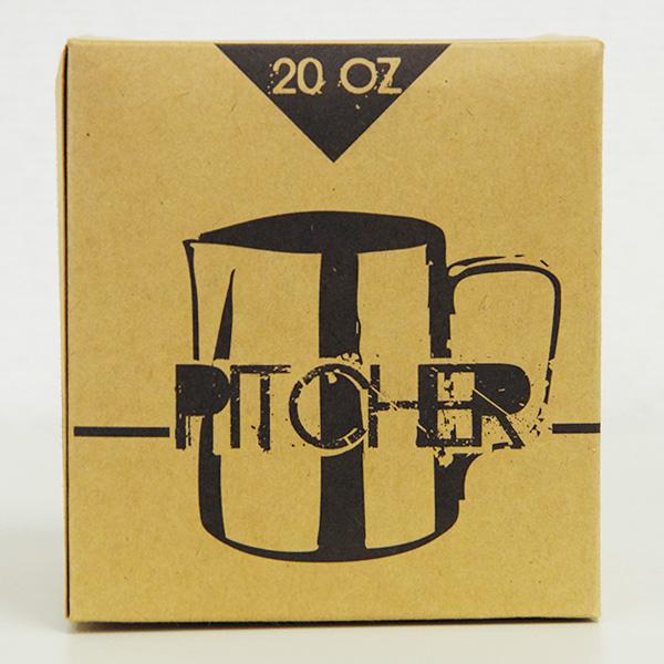 Latte Art Pitcher [目盛り付きミルクピッチャー] / 20oz