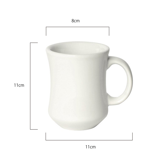 Bond 250ml Hutch Mug (単品)  /  WHITE