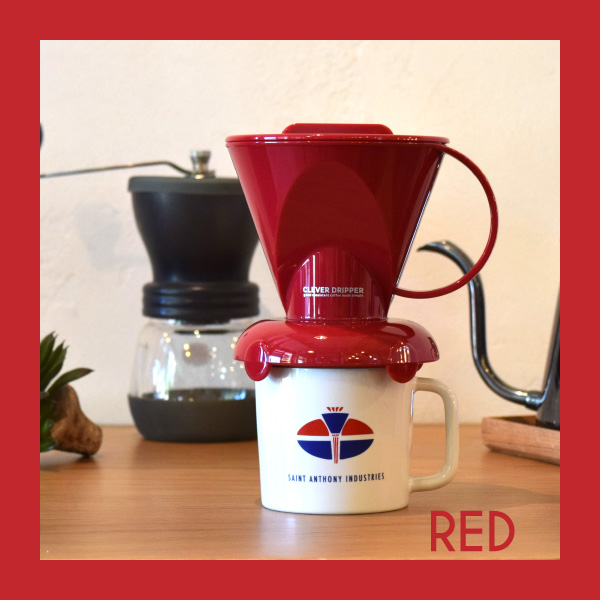 Clever Dripper S / RED [ペーパーフィルター100枚付]