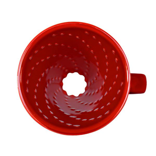 C70 Ceramic70 Coffee Dripper / RED [専用ペーパーフィルター100枚付]