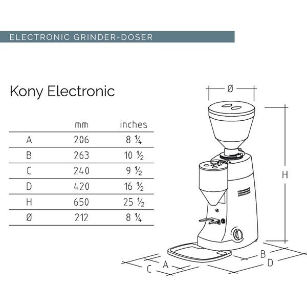 KONY - ELECTRONIC 50Hz [コニー エレクトロニック 50ヘルツ] / DARK GRAY
