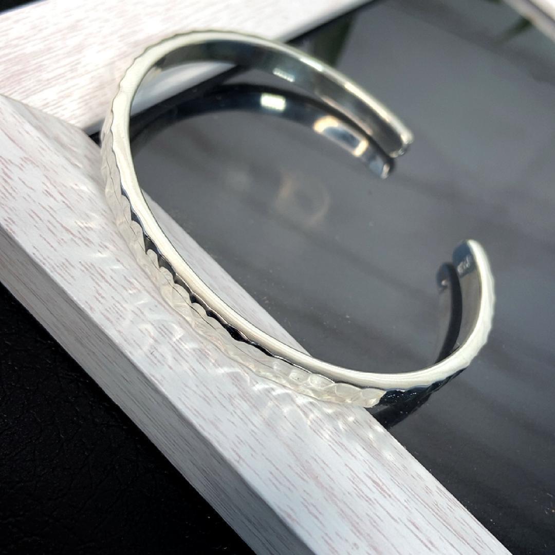 【Silver925】 バングル  シンプル ブレスレット