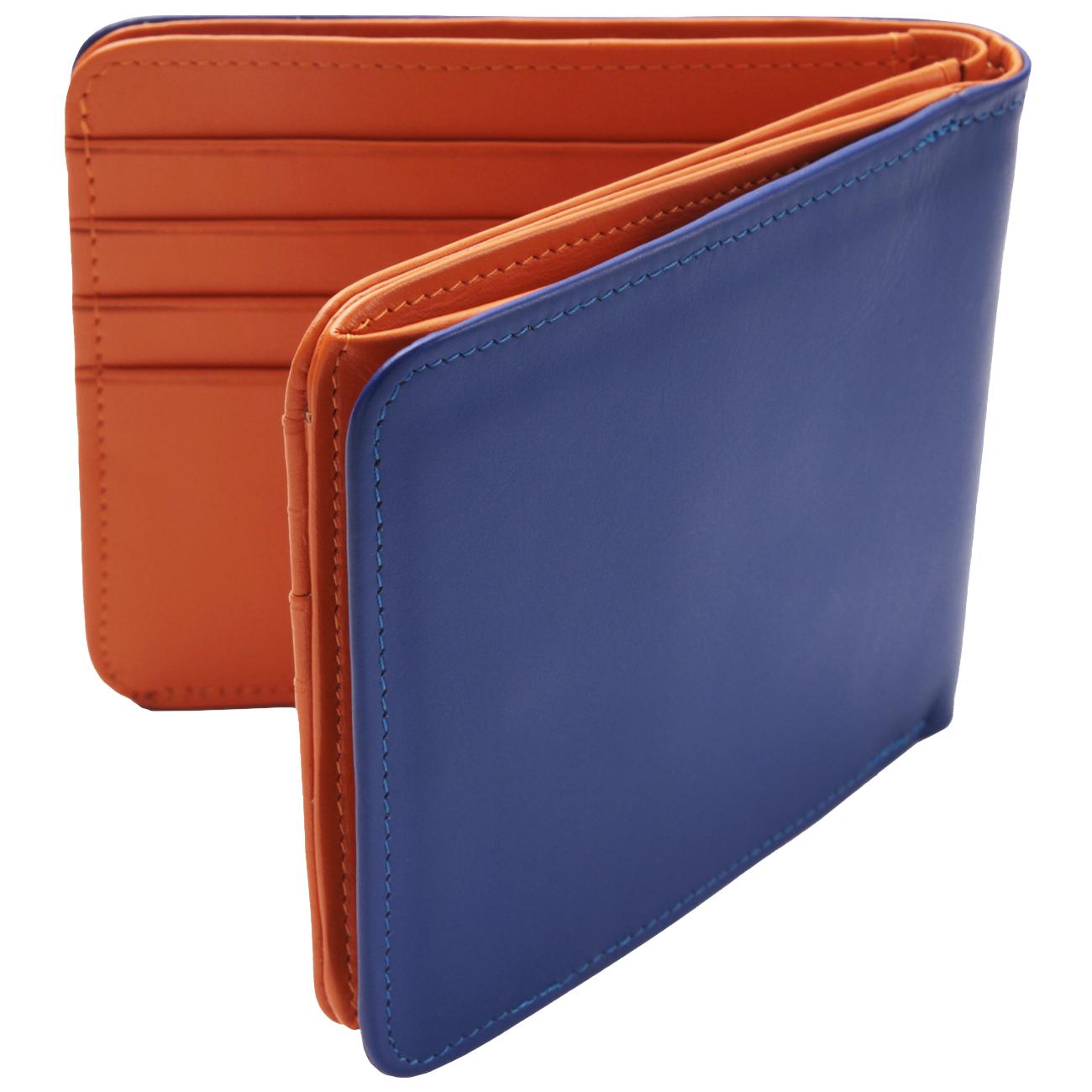 【TRACUS(トラッカス)】二つ折り財布 ボックス型小銭入れ