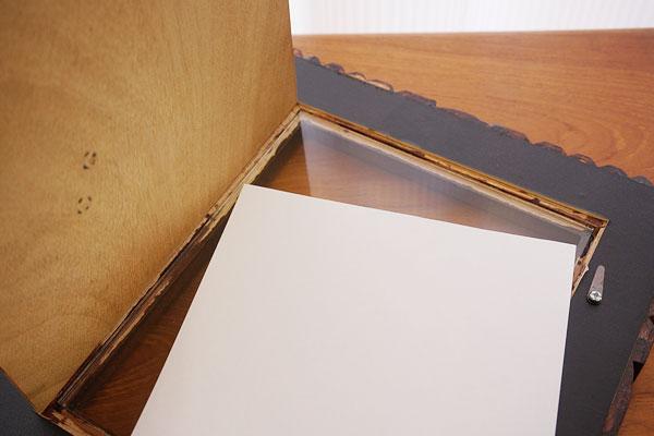 木製 フォトフレーム A ワイド四切サイズ