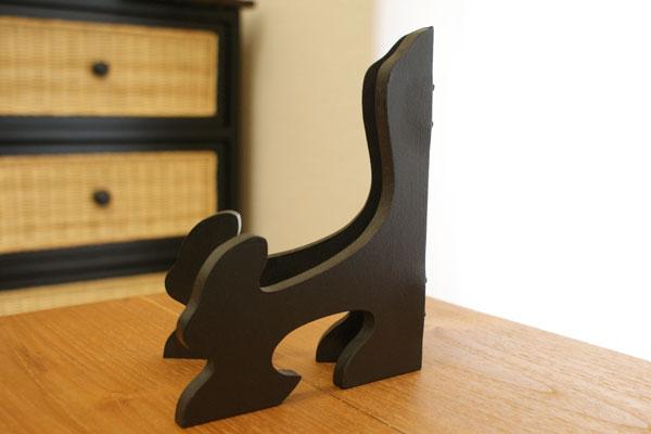 木製 額立て S ブラック