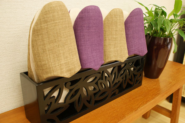木製 スリッパラック ロータス