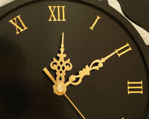 アジアン レリーフ 壁掛け時計 リーフA