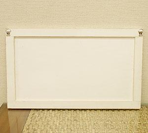 アートフレーム バード 50×30 ホワイトウォッシュ