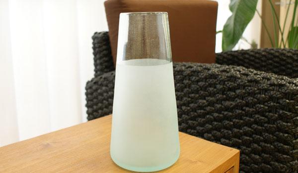 ツートン ガラス フラワーベース A-L