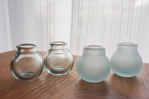 バリガラス ミニ フラワーベース B
