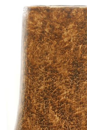 テラコッタ フラワーベース アンティークブラウン A Lサイズ