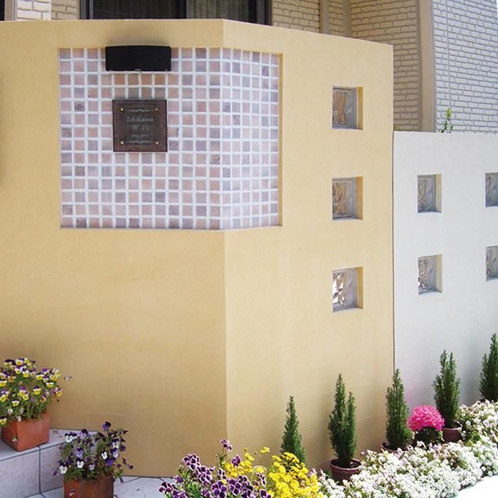 タイル シート リフォーム 陶器タイル 屋外壁 屋外床 磁気質無釉 アートモザイクスクエア25角 1枚 スタイルD diy 玄関 アプローチ ベランダ