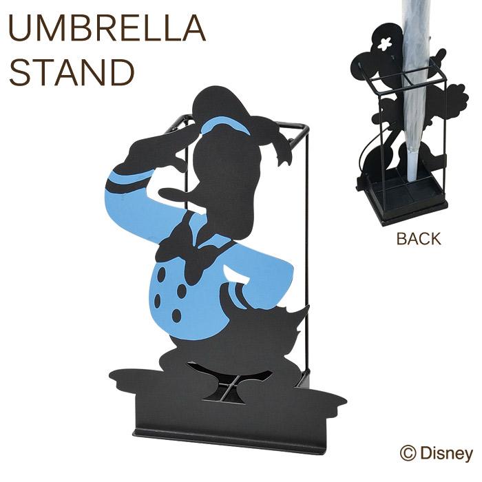 傘立て かさ立て ディズニー シルエット4本傘立て ドナルド コンパクト 可愛い おしゃれ ガーデニング雑貨 お祝い 新築祝い 贈り物