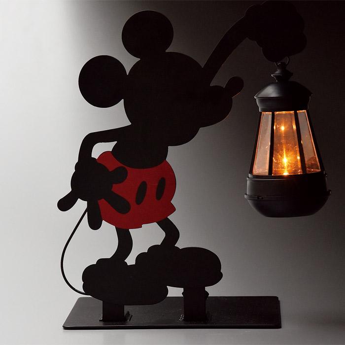 ソーラーライト LED ガーデンライト 屋外照明 ディズニー シルエットソーラーライト ミッキー 光センサー付き 組立式 外灯 照明器具 かわいい