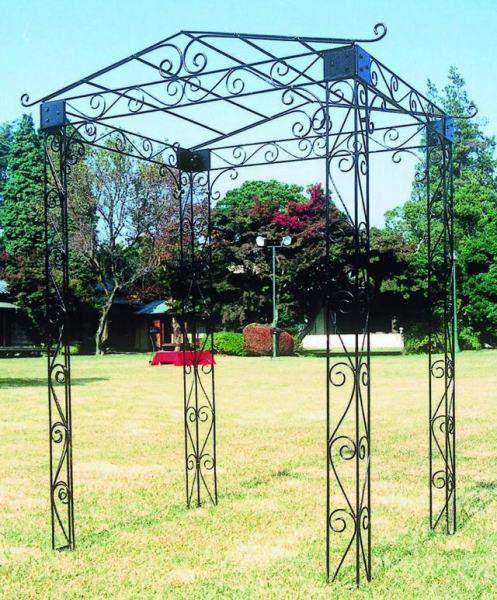 ロートアイアン ガーデンアーチ マウンテンパーゴラ バラ アーチ ガーデンファニチャー 園芸用品