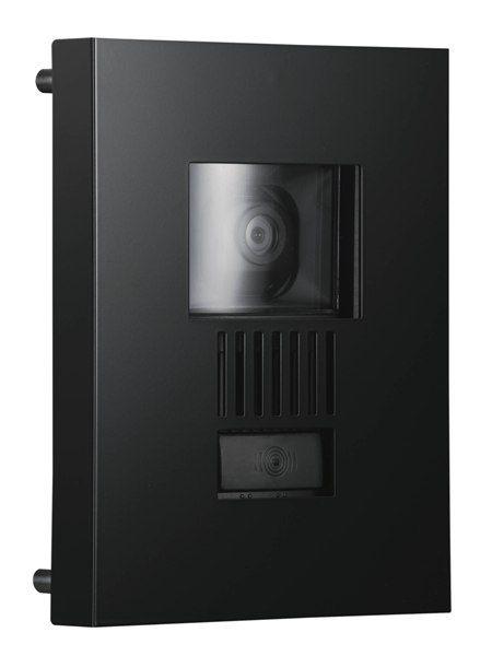 インターホンカバー ステンレス インターフォンカバー ミュール ステンレス素材  ブラック  装飾 エクステリア 外構工事 リフォーム