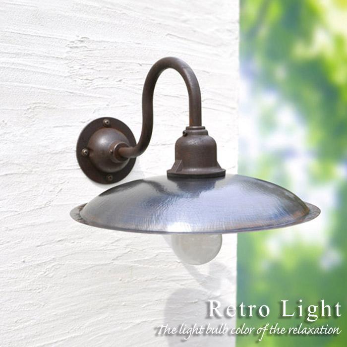 玄関 照明 門柱灯 門灯 外灯 屋外 ガーデンライト レトロ風照明  A灯 アンティーク風 ブラケット LDT-1 照明器具 おしゃれ LED電球