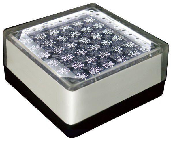 ソーラーライト LED 照明 埋込 駐車場 ライト 外灯 角型 SBH100FWH ホワイト アプローチライト 誘導灯 照明器具 おしゃれ