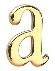 表札 真鍮切文字 ブラスレター 30シリーズ 小文字 英字 装飾壁飾り シンプル表札 店舗 看板 外構工事 新築祝いに