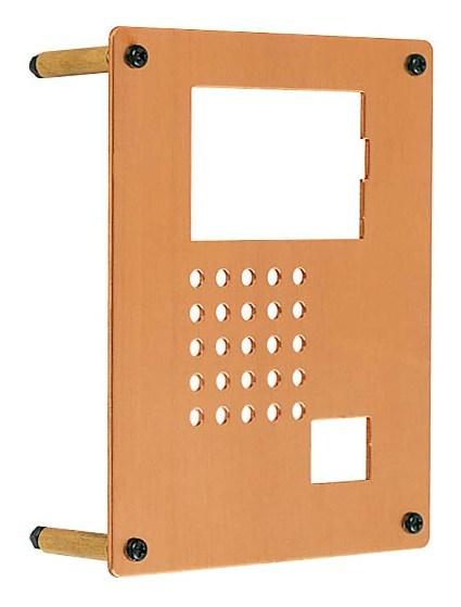 インターホンカバー 銅 シンプルスタイル インターフォン カバー 銅 装飾 エクステリア