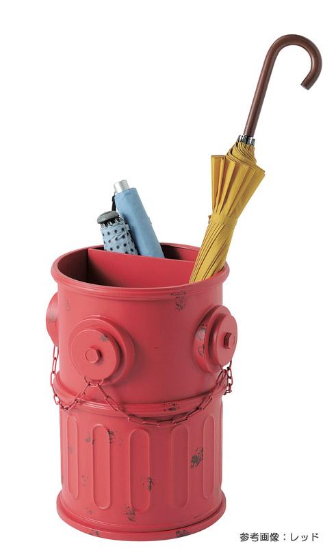傘立て おしゃれ アンアティーク レトロ ボックス アンブレラスタンド 消火栓 グレー 収納 インテリア小物 ガーデンニング雑貨