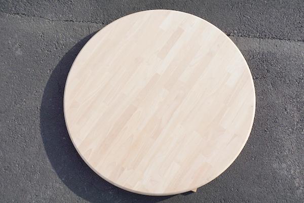 26-001 ゴムの木 丸テーブル板 榛名木材工業株式会社(群馬県)