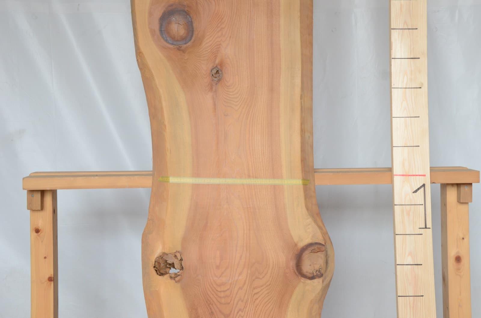 11-003 杉 (スギ) 一枚板 ときがわ木材有限会社(埼玉県ときがわ町)