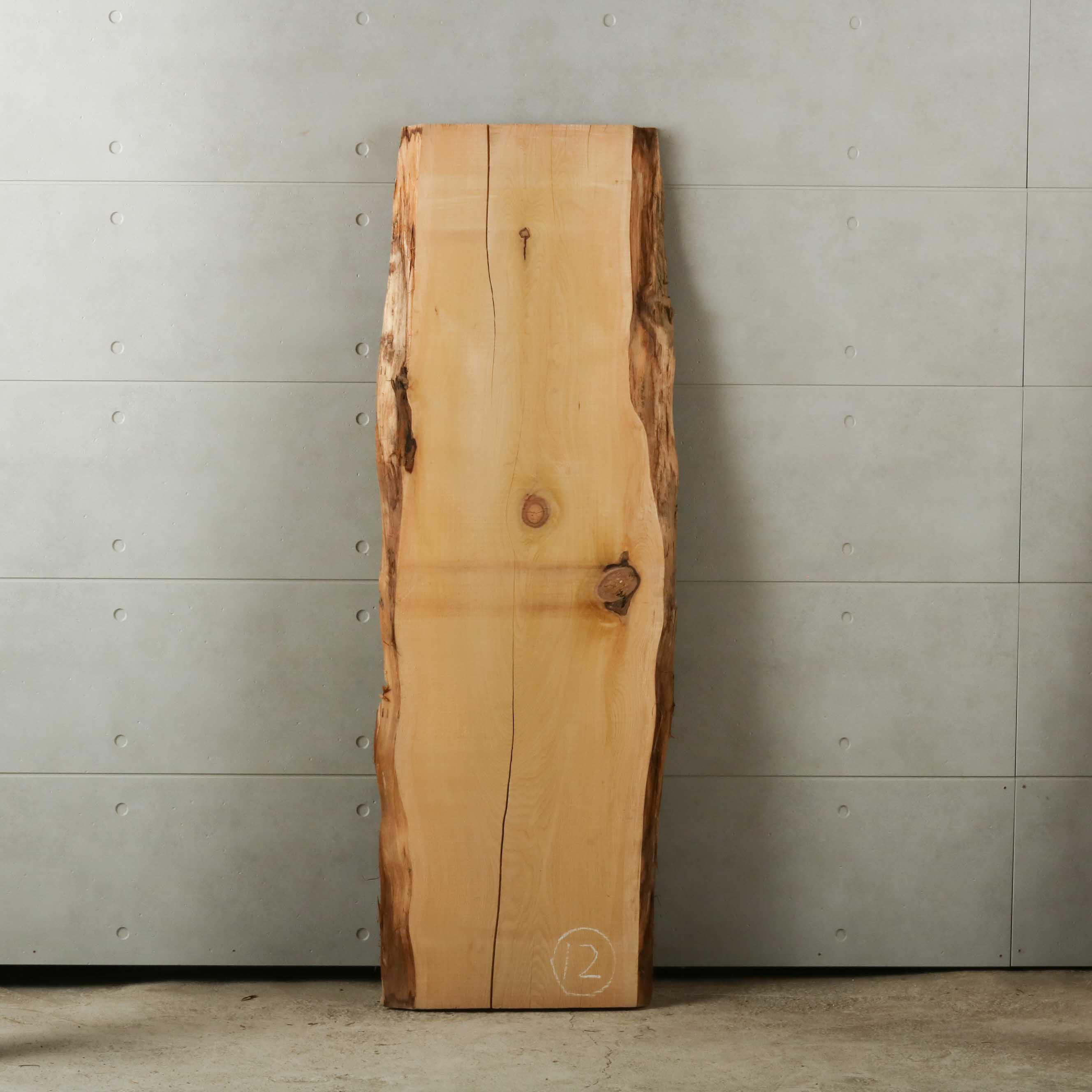 16-012 檜葉 (ヒバ) 一枚板 有限会社村口産業(下北郡)