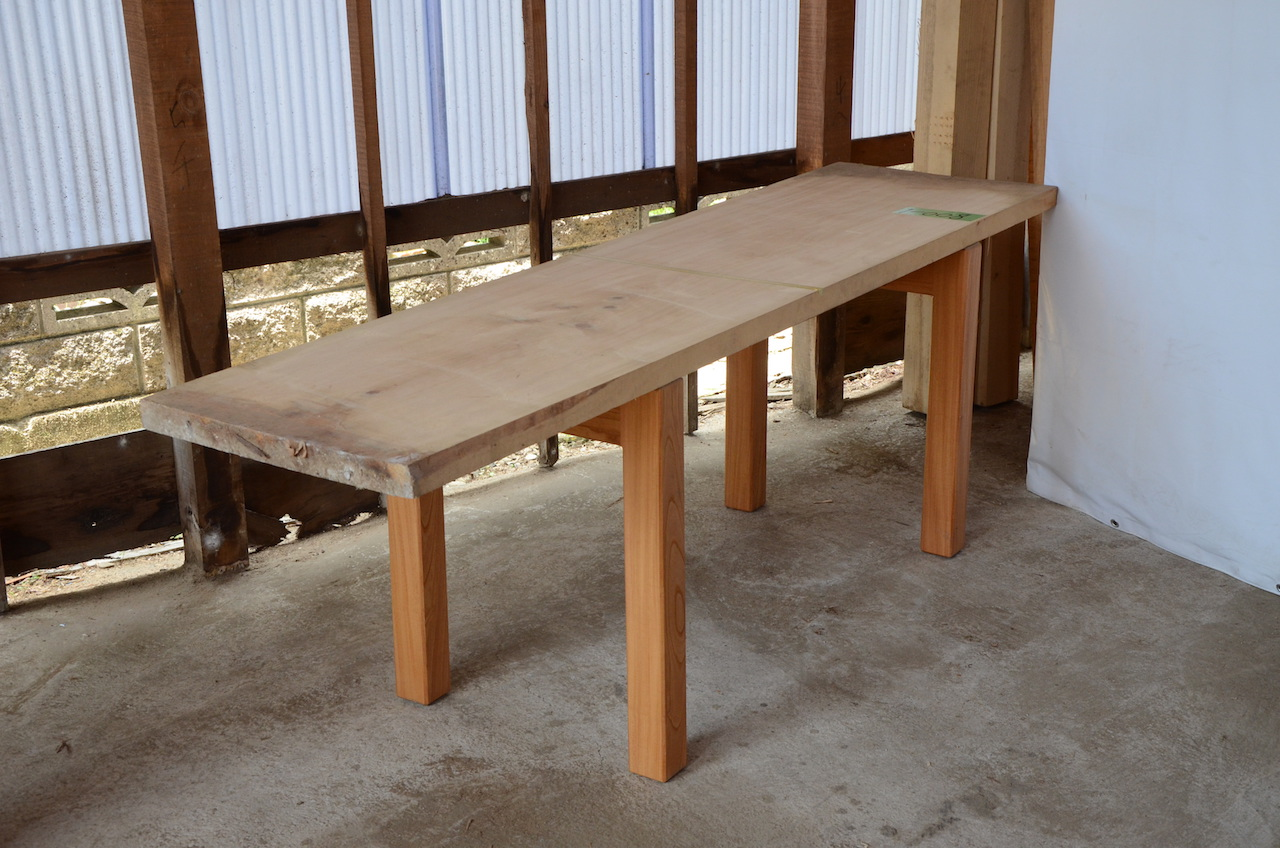 1-008 檜 (ヒノキ) 一枚板 三橋製材所 (あきる野市)