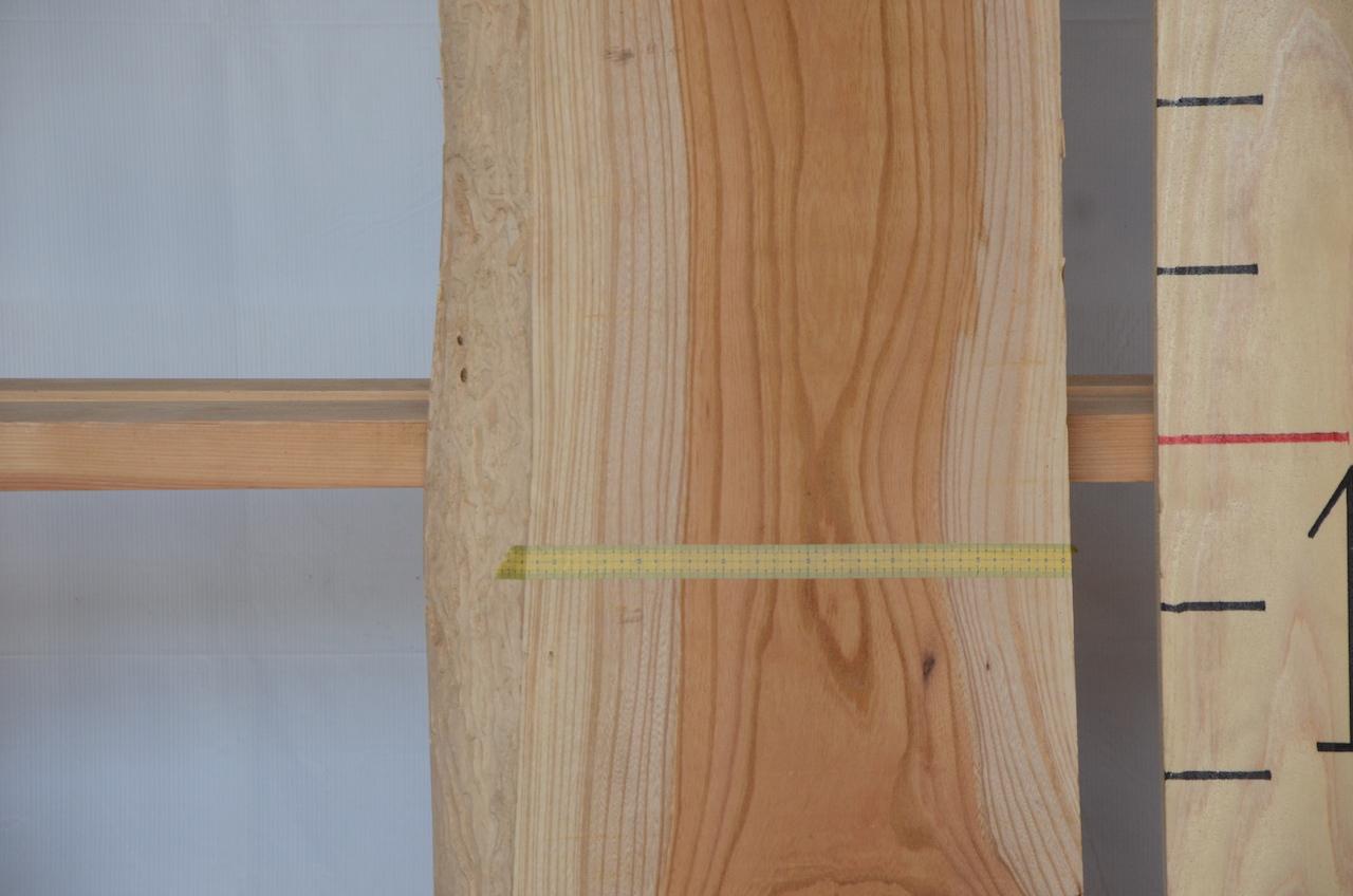 1-009 欅 (ケヤキ) 一枚板 三橋製材所 (あきる野市)