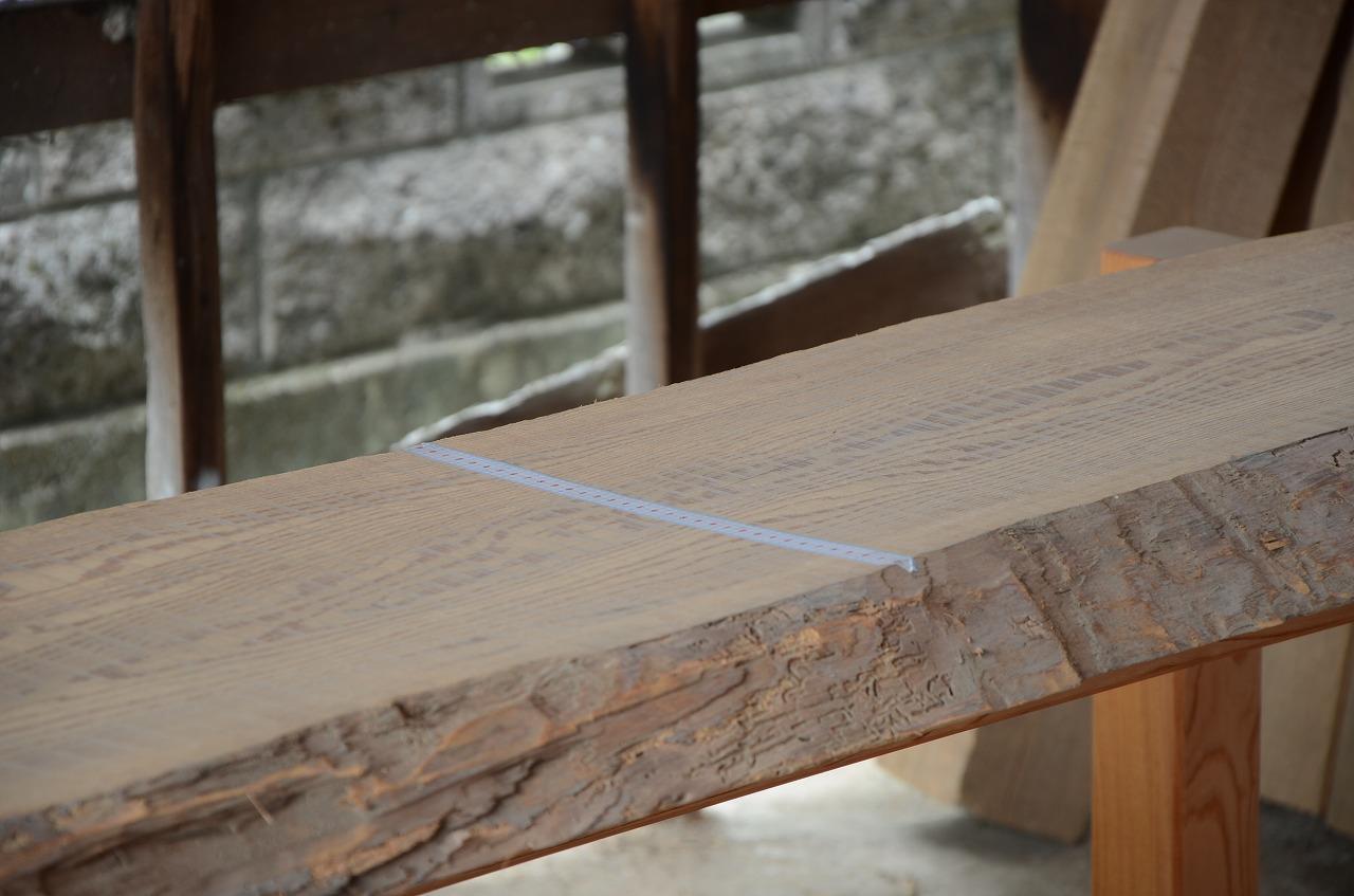 2-002 松 (マツ ) 一枚板 三橋製材所 (あきる野市)