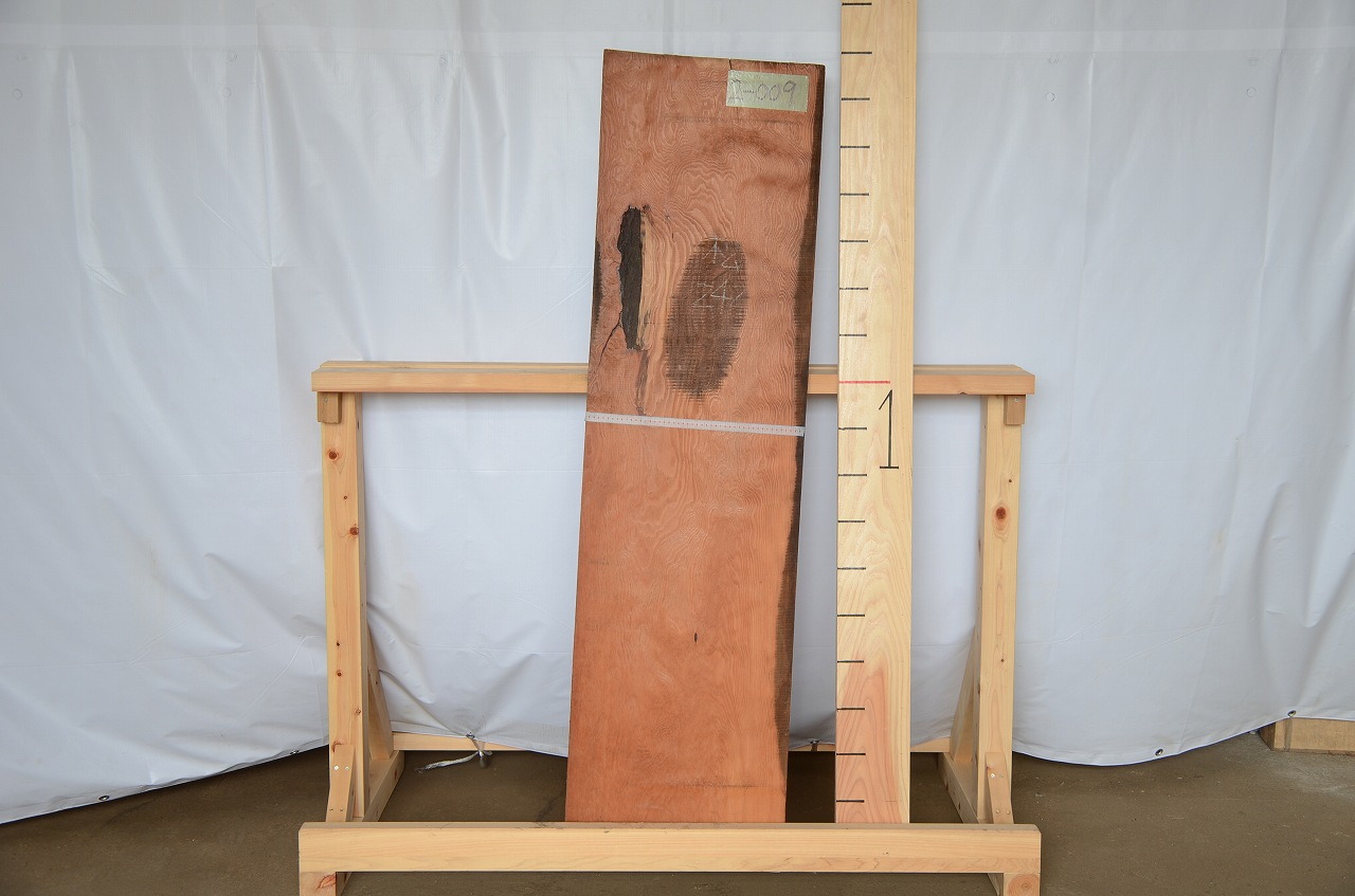 2-009 松 (マツ ) 一枚板 三橋製材所 (あきる野市)