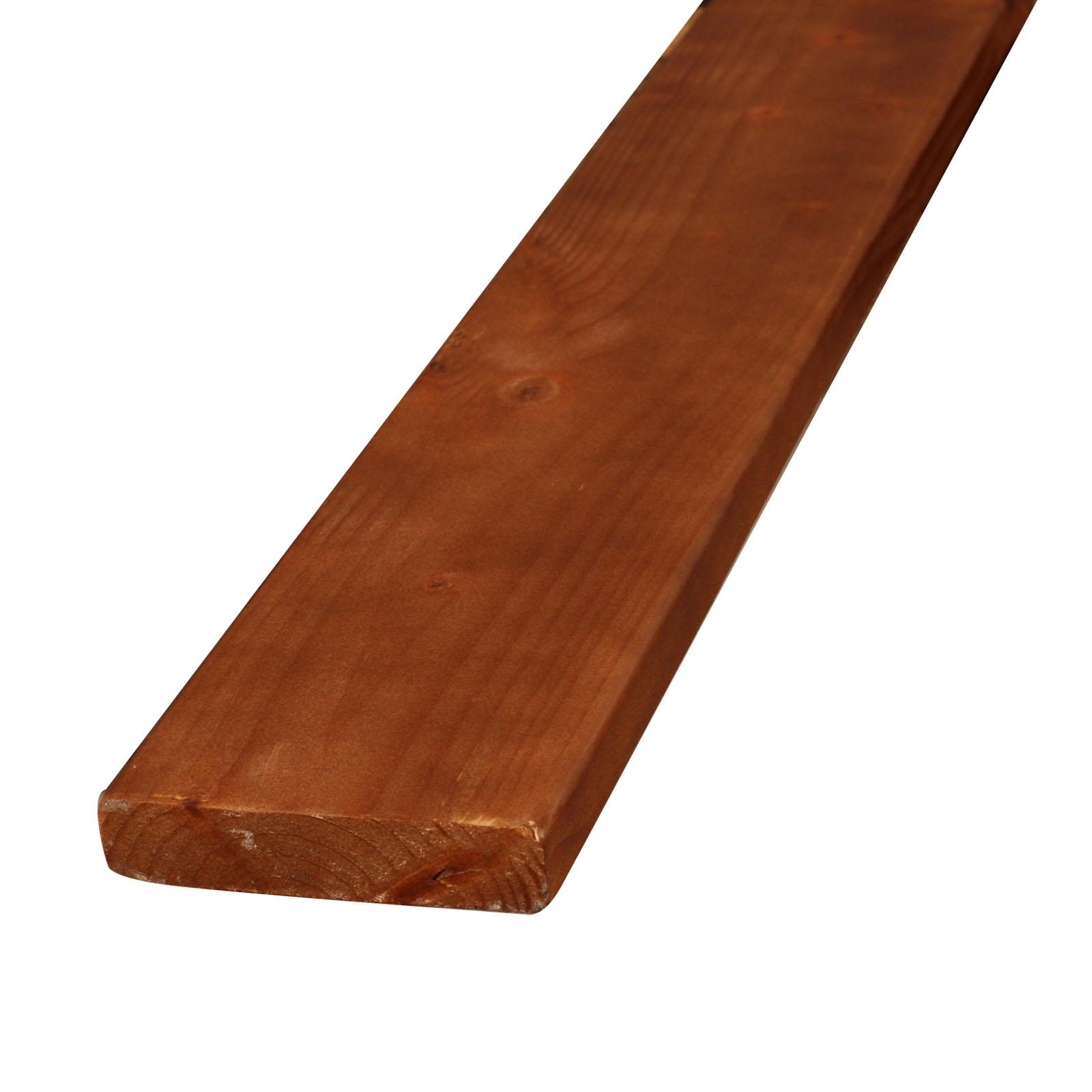 27-002 スプルース 無垢板材 塗装済(ブラウン)株式会社アジアトレーディング(群馬県前橋市)