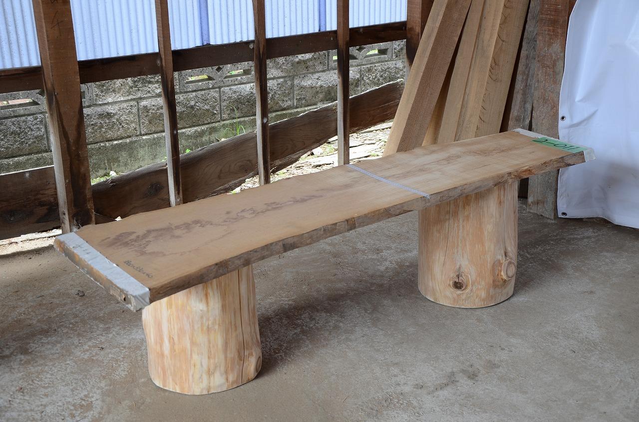2-011 栗 (クリ) 一枚板 三橋製材所 (あきる野市)