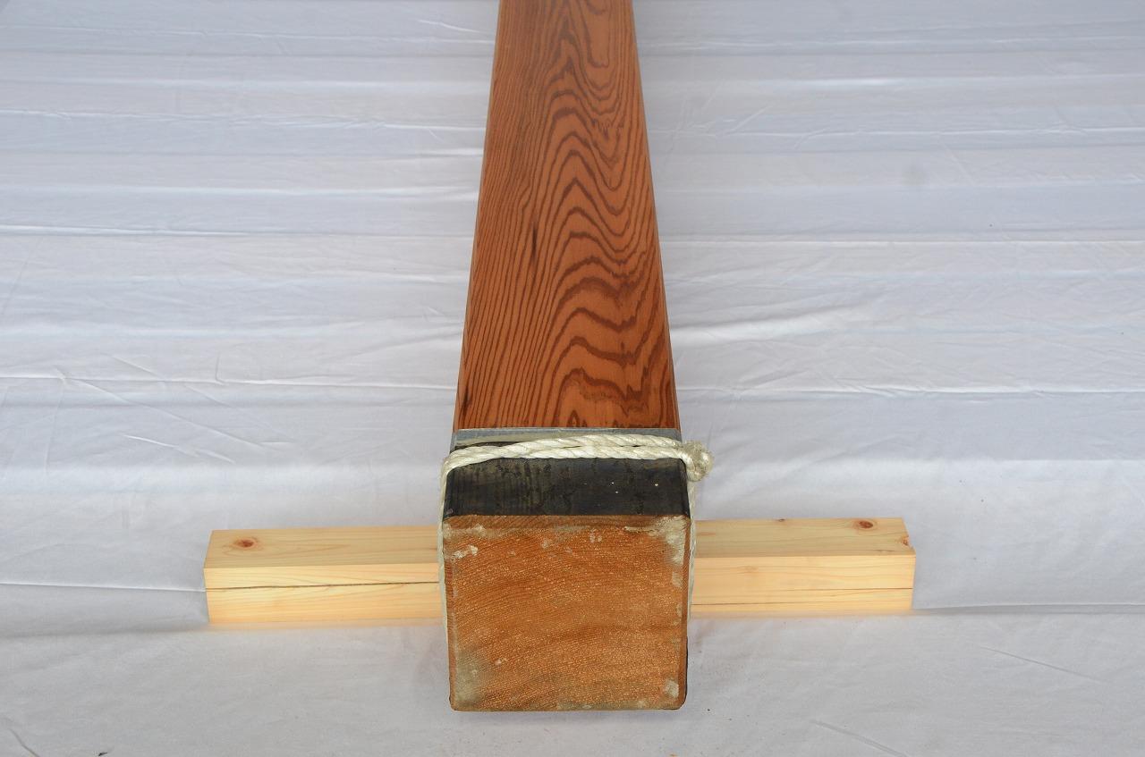 6-008 杉 (スギ) 柱 木村木材工業(北本市)