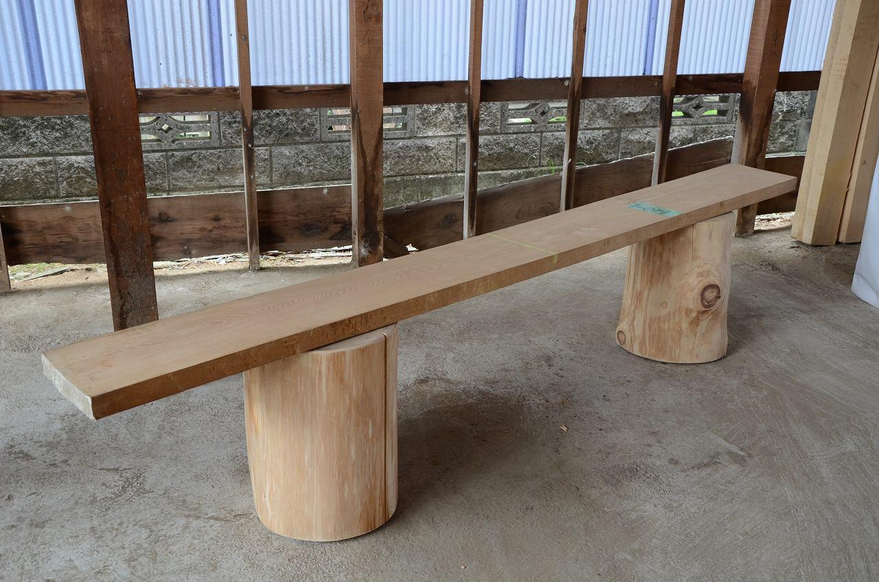 1-019 タモ 一枚板 三橋製材所 (あきる野市)