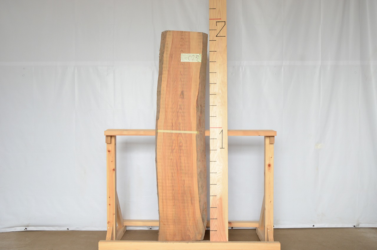 1-025 松 (マツ ) 一枚板 三橋製材所 (あきる野市)