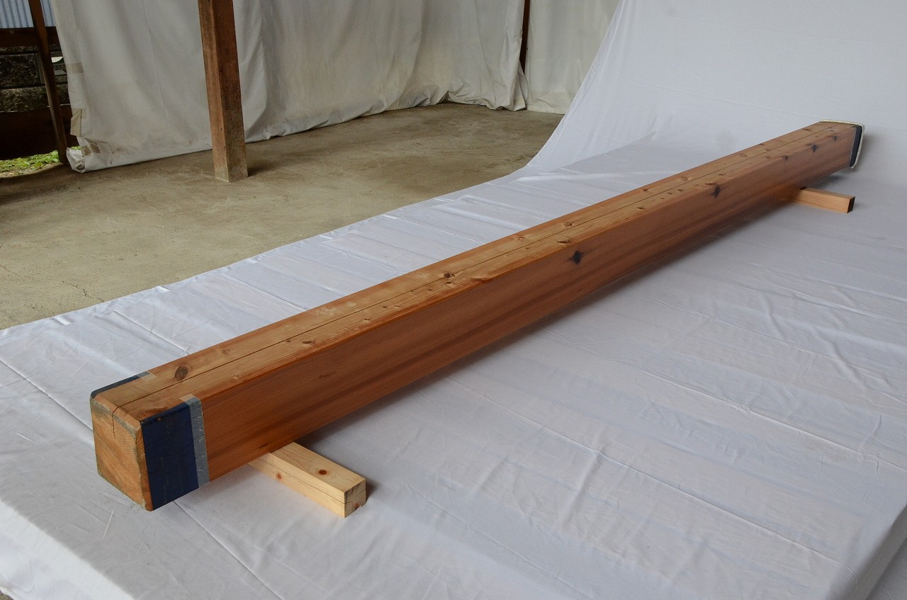 6-015 杉 (スギ) 柱 木村木材工業(北本市)