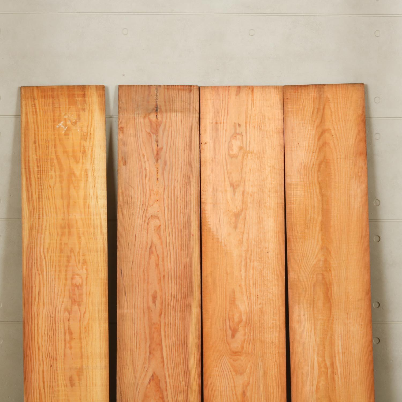 12-006 ヤニ松 腰板・羽目板 4枚セット 大蔵木材株式会社(江東区)