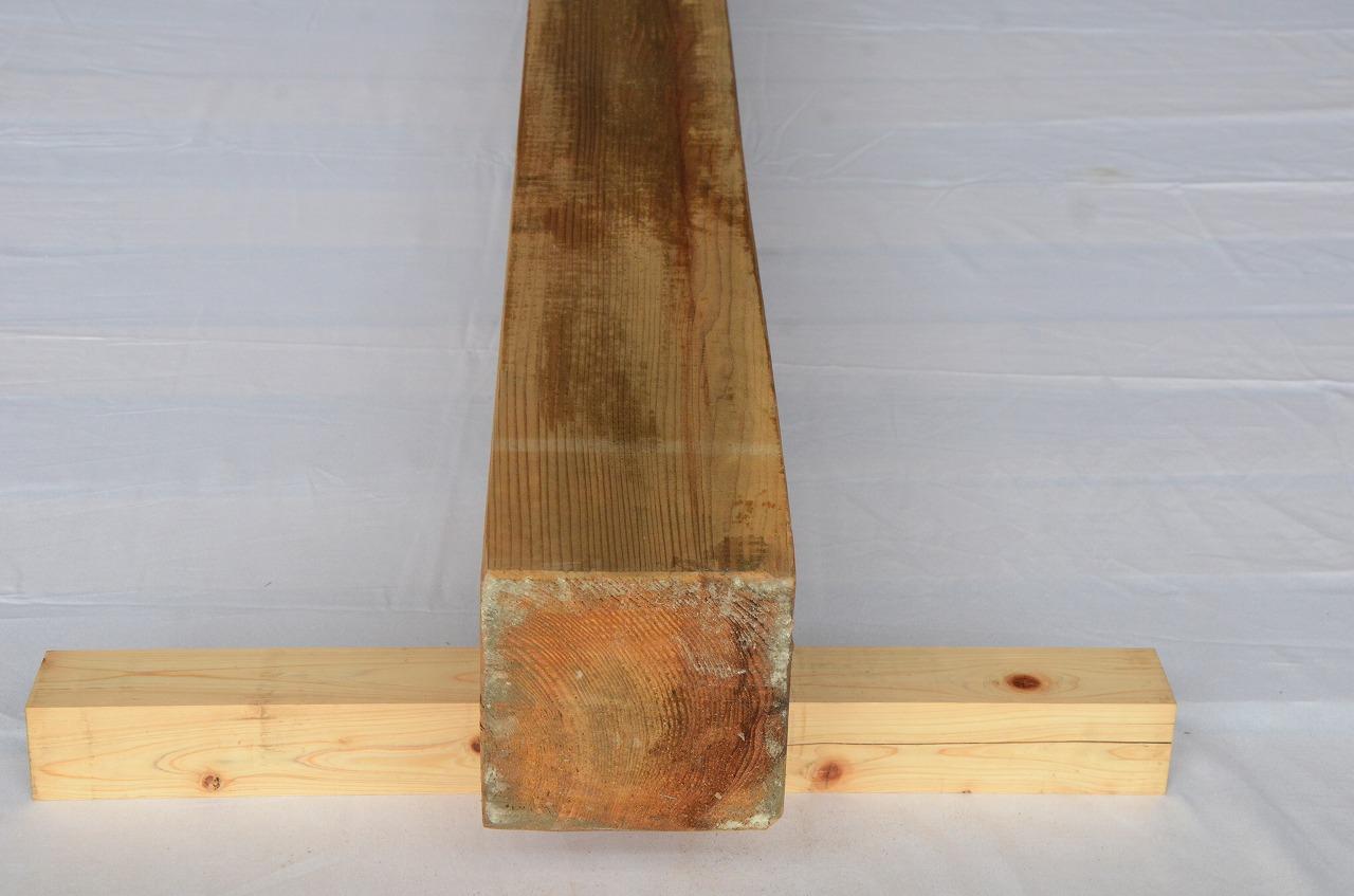 6-020 杉 (スギ) 柱 木村木材工業(北本市)