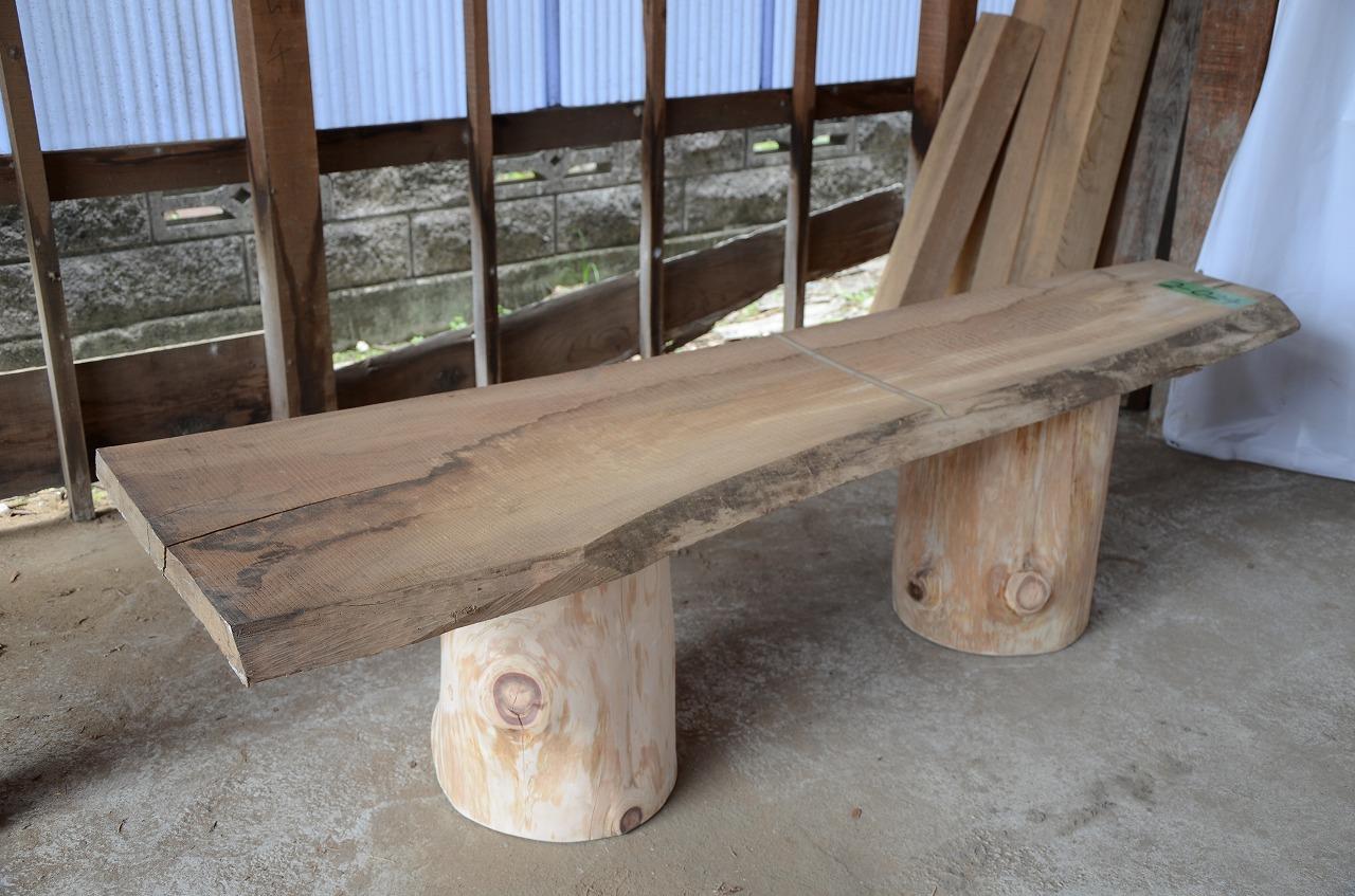 2-024 欅 (ケヤキ) 一枚板 三橋製材所 (あきる野市)
