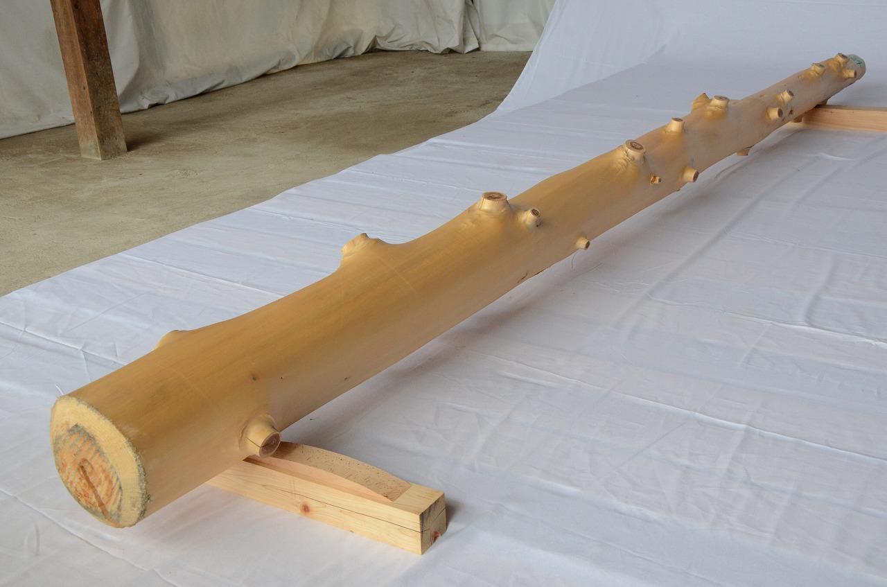 6-024 檜 (ヒノキ) 柱 木村木材工業(北本市)