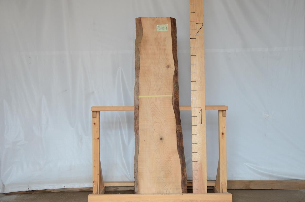 3-009 樅 (モミ) 一枚板 有限会社沖倉製材所 (あきる野市)