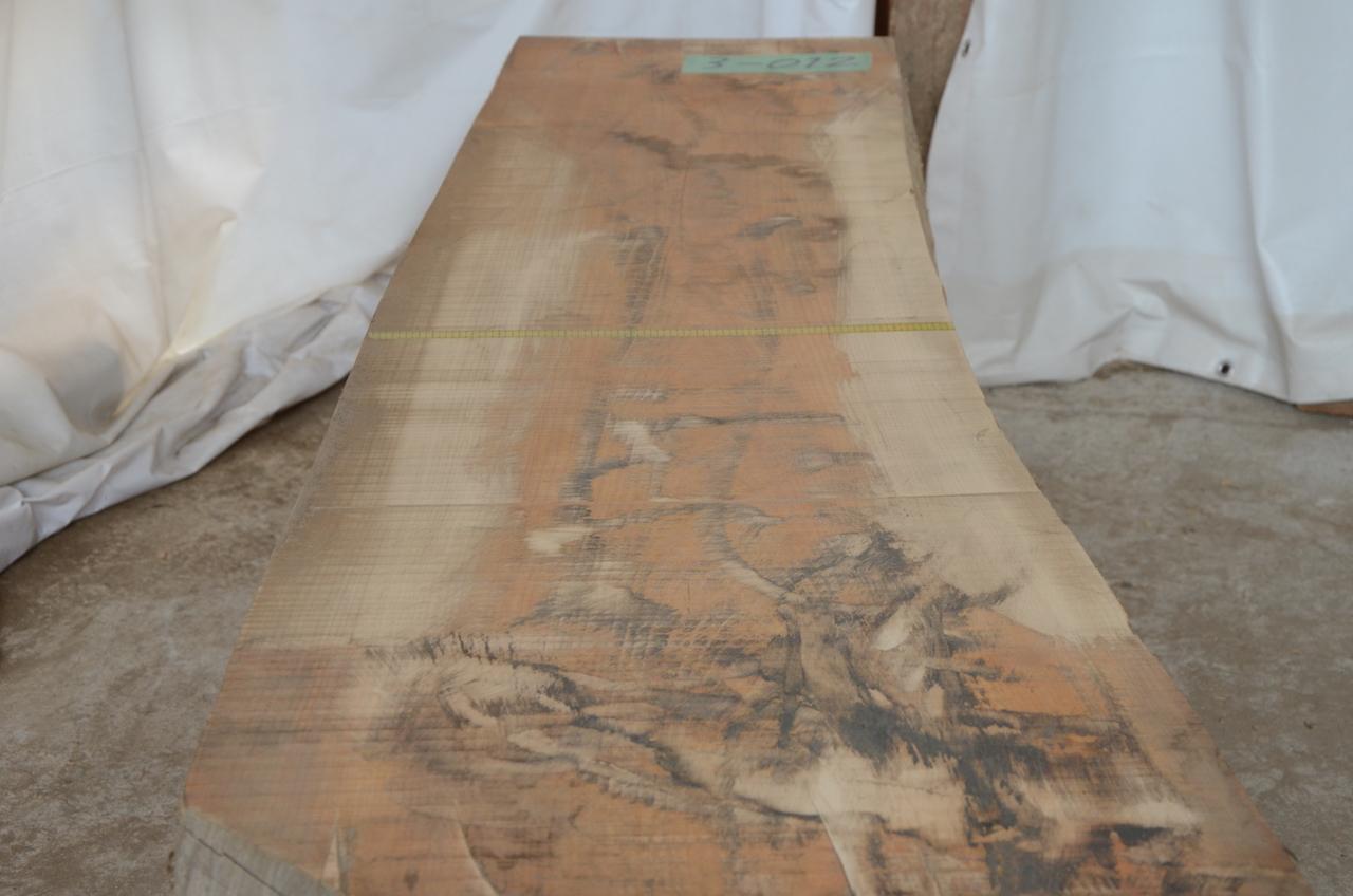 3-012 檜 (ヒノキ) 一枚板 有限会社沖倉製材所 (あきる野市)