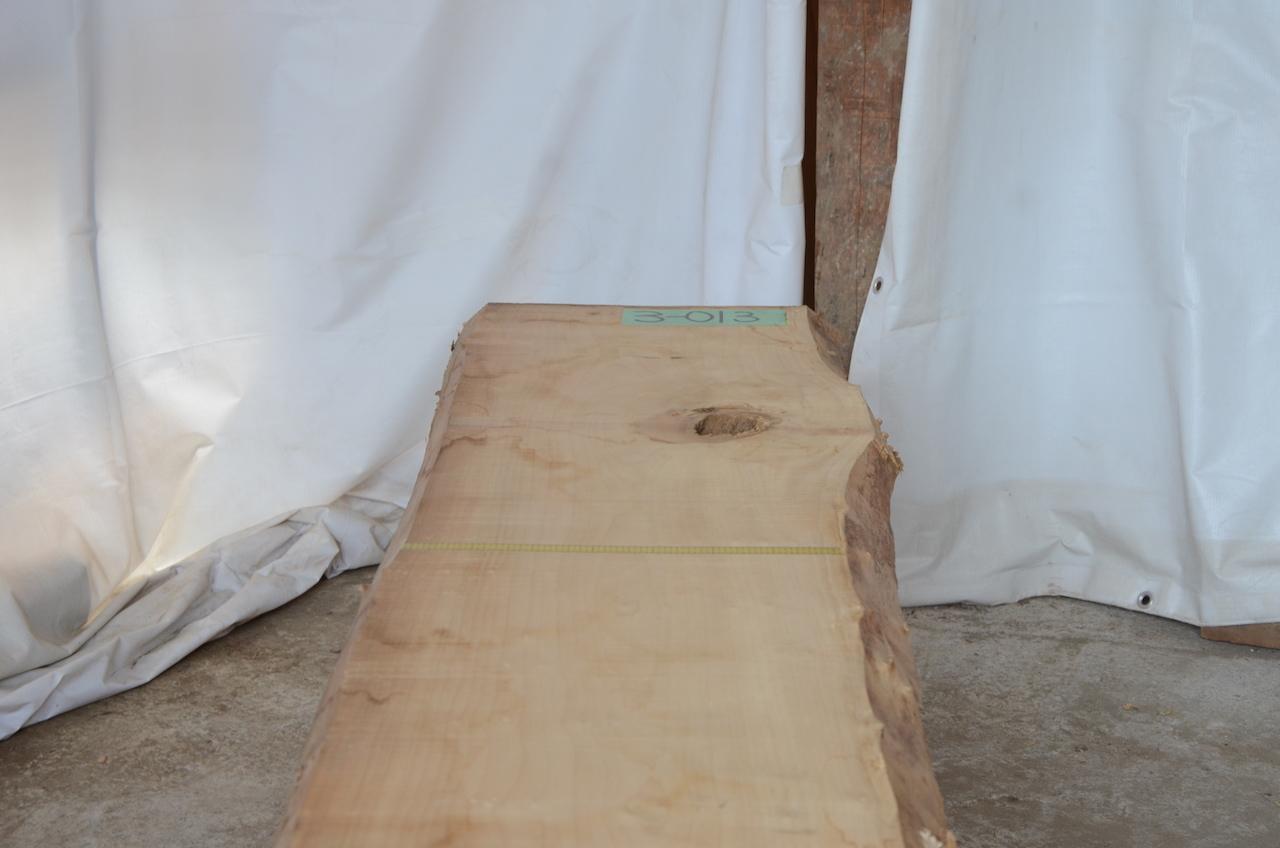 3-013 檜 (ヒノキ) 一枚板 有限会社沖倉製材所 (あきる野市)