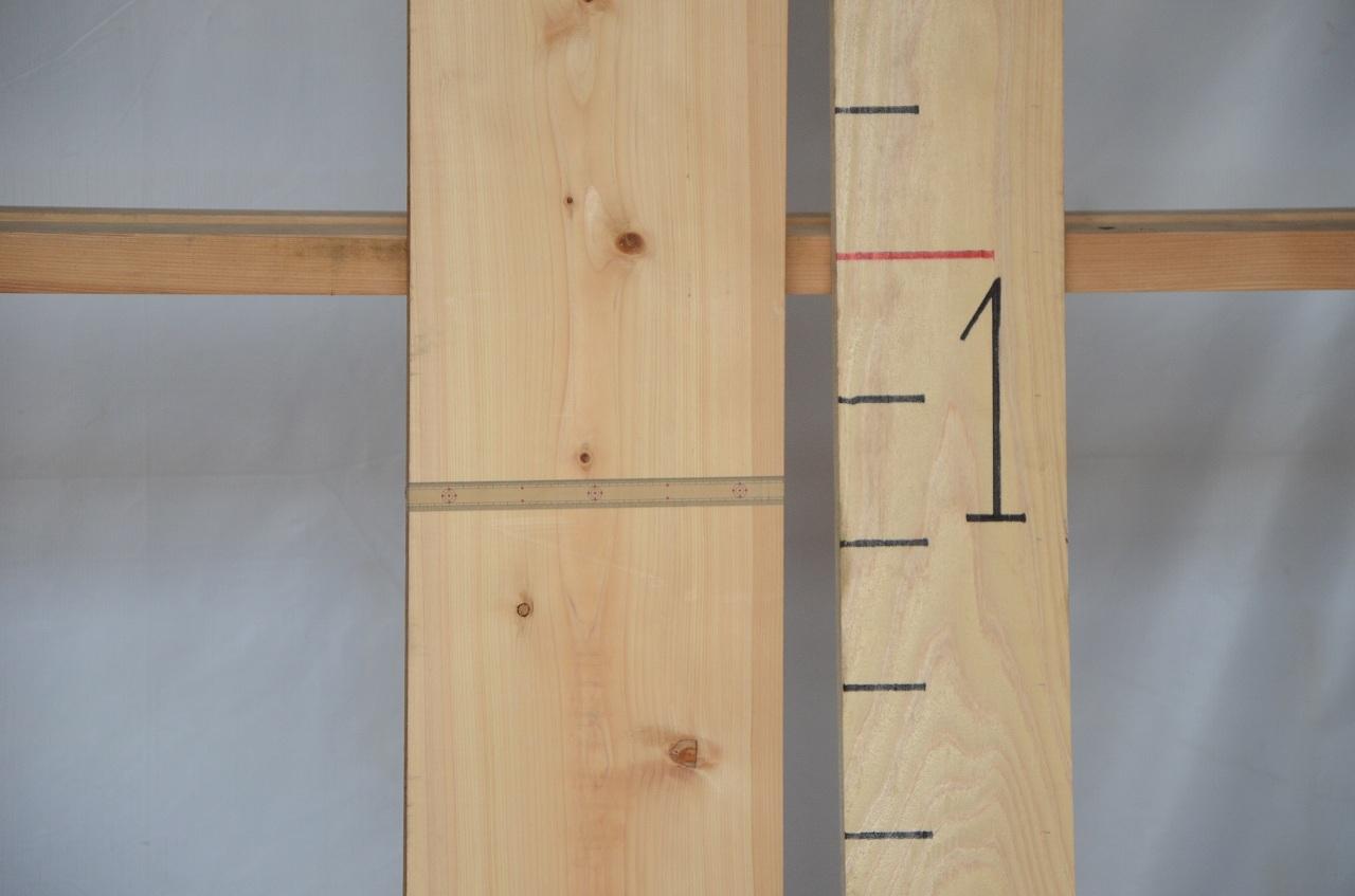 1-054 檜 (ヒノキ) 一枚板 三橋製材所 (あきる野市)