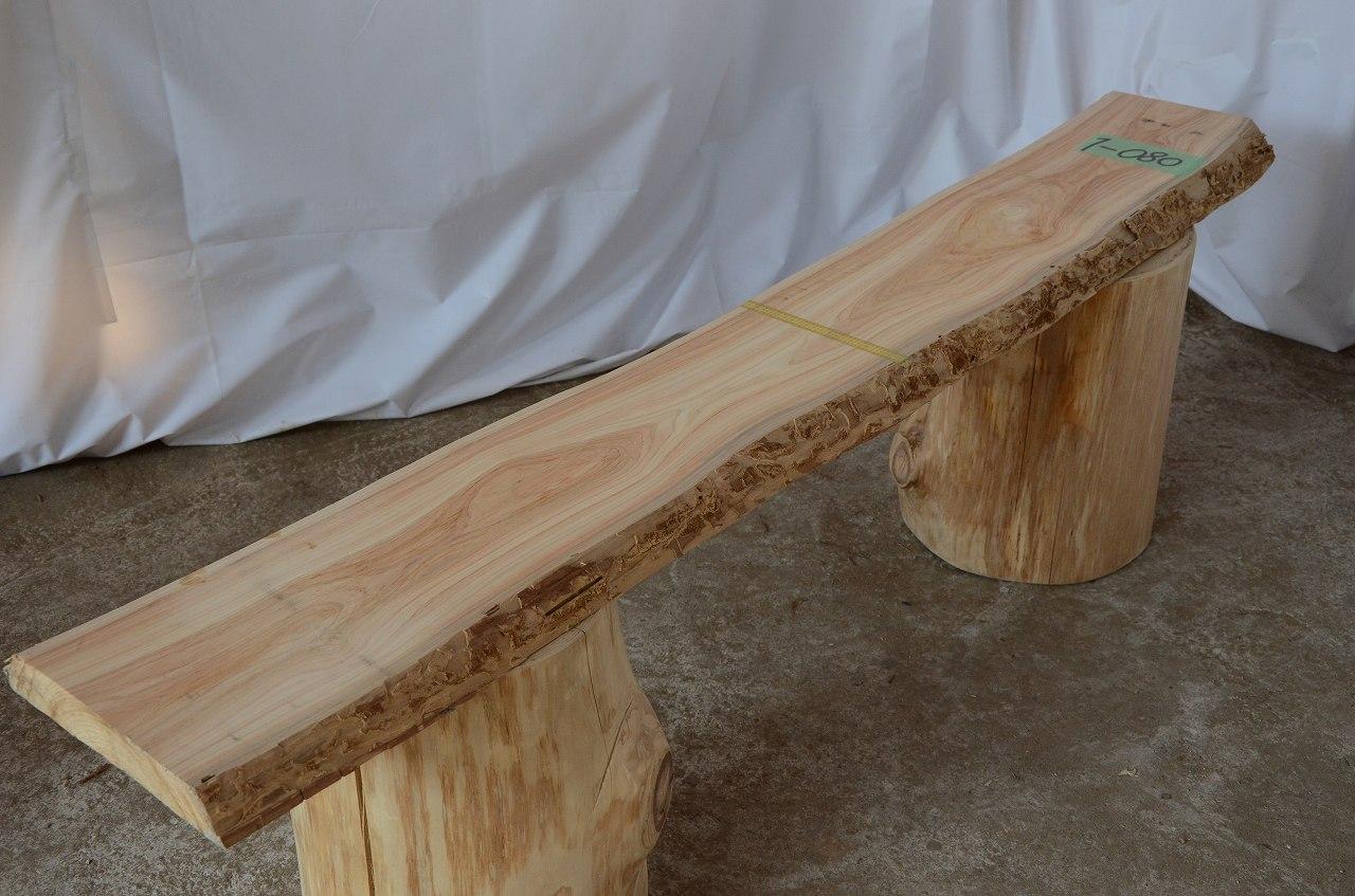 1-080 檜 (ヒノキ) 一枚板 三橋製材所 (あきる野市)